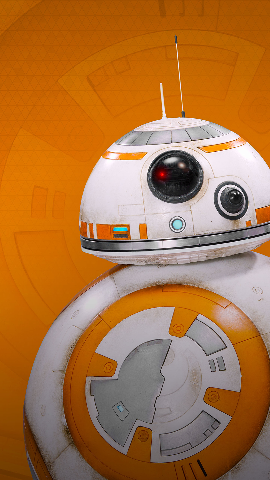 Bb 8 Droid Iphone 6 Plus Wallpaper 1080x1920 Star Wars Wallpaper Star Wars Background Star Wars Bb8