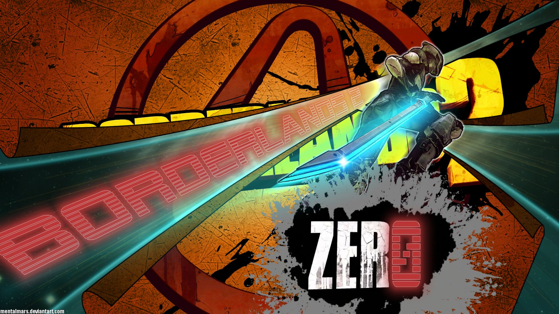 Zero From Borderlands 2 Getting Excited D Borderlands