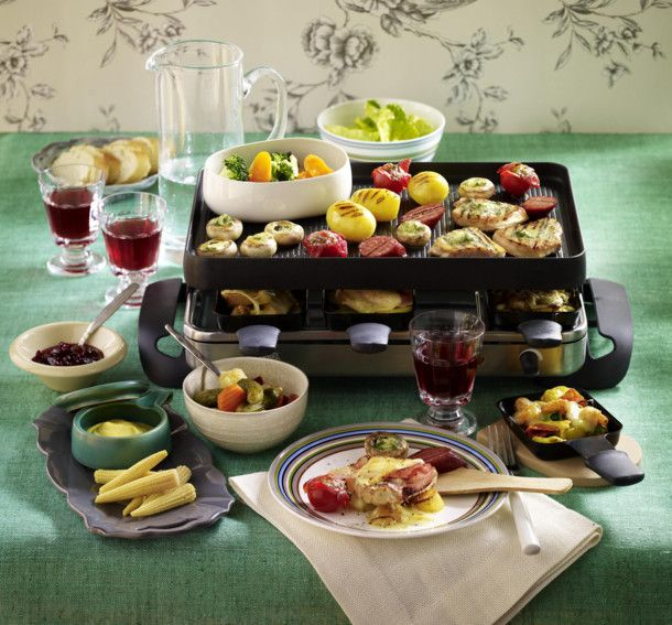 schlemmer raclette rezept raclette fondue hmmmm pinterest beliebtesten rezepte beliebt. Black Bedroom Furniture Sets. Home Design Ideas