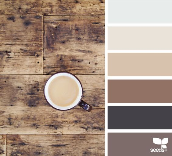 This Wood Inspired Color Palette Is A Beautiful Scheme For Incorporating Both Modern And Rustic Tones