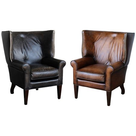 Charming Buy Leather Chairs Online. This Classic Look Leather Chair Has An Old  Fashioned Charm.
