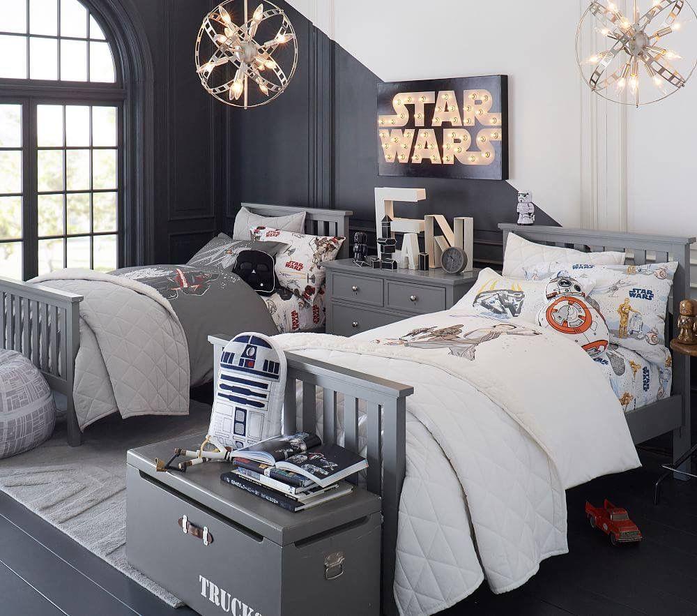 Star Wars chic    Deco chambre fillette, Chambre enfant, Idée ...