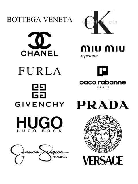 ec06d5b3f Free Logos Vector Brands Bottega Veneta, Calvin Klein, Chanel, Miu Miu,  Furla, Paco Rabanne, Givenchy, Prada, Hugo Boss, Jessica Simpson In the zip- archive ...