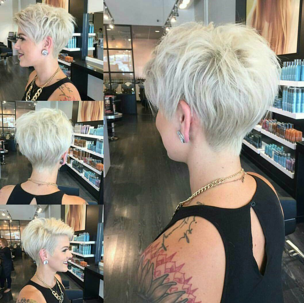 Pin by angie bluhm on pixies pinterest short hair styles hair