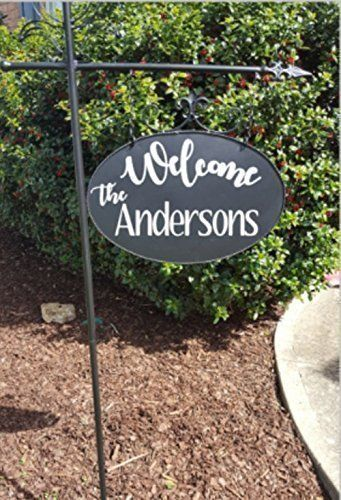 Custom Metal Decorative Signs Delectable Customized Metal Yard Sign With Decorative Stakeone 1 Inspiration