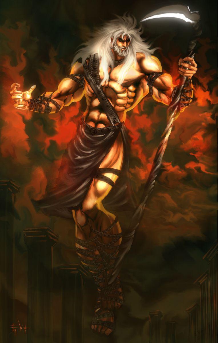 Uranus Greek Mythology Cronus was usually dep...