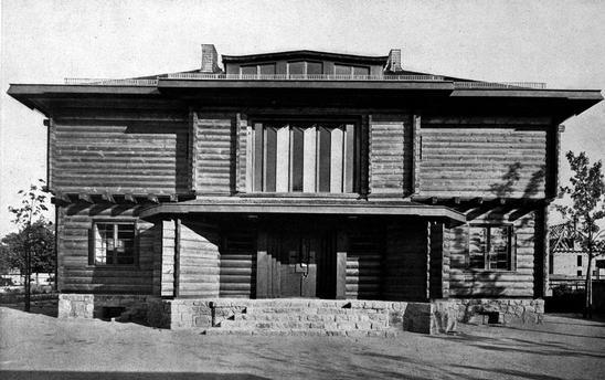 1920 1921 haus sommerfeld sommerfeld house walter for Bauhaus case in legno