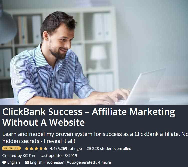 CLICKBANK clickbank without website clickbankaffiliate