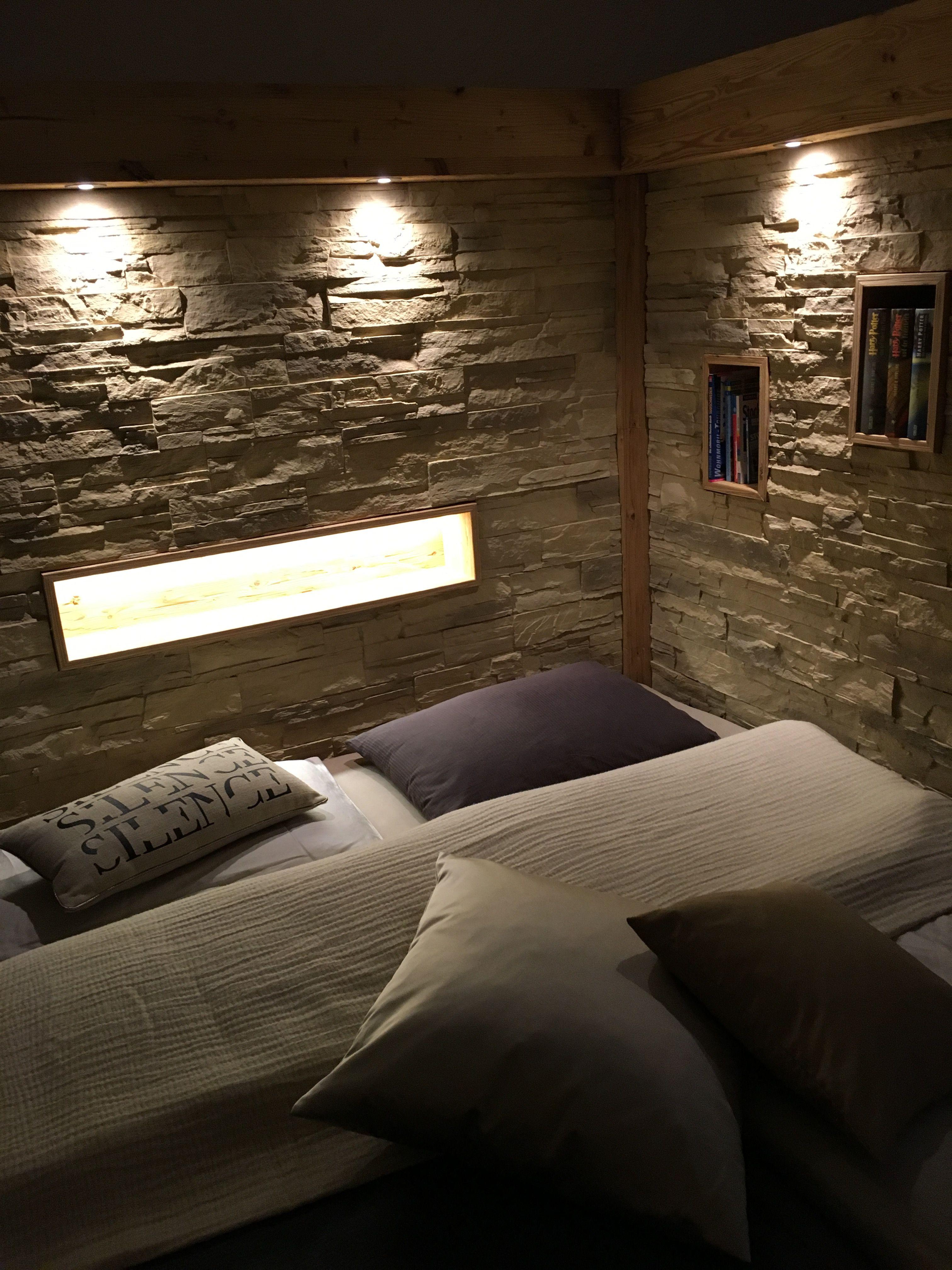 Pin von Ambientestones auf Wandgestaltung Schlafzimmer