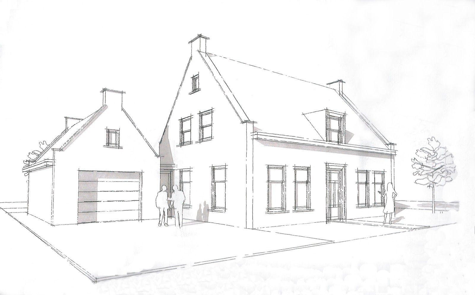 Huis tekenen 3d tekenen pinterest huis tekenen for Huizen tekenen