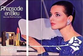 Lancome ad from the 80s With Isabella Rossilini