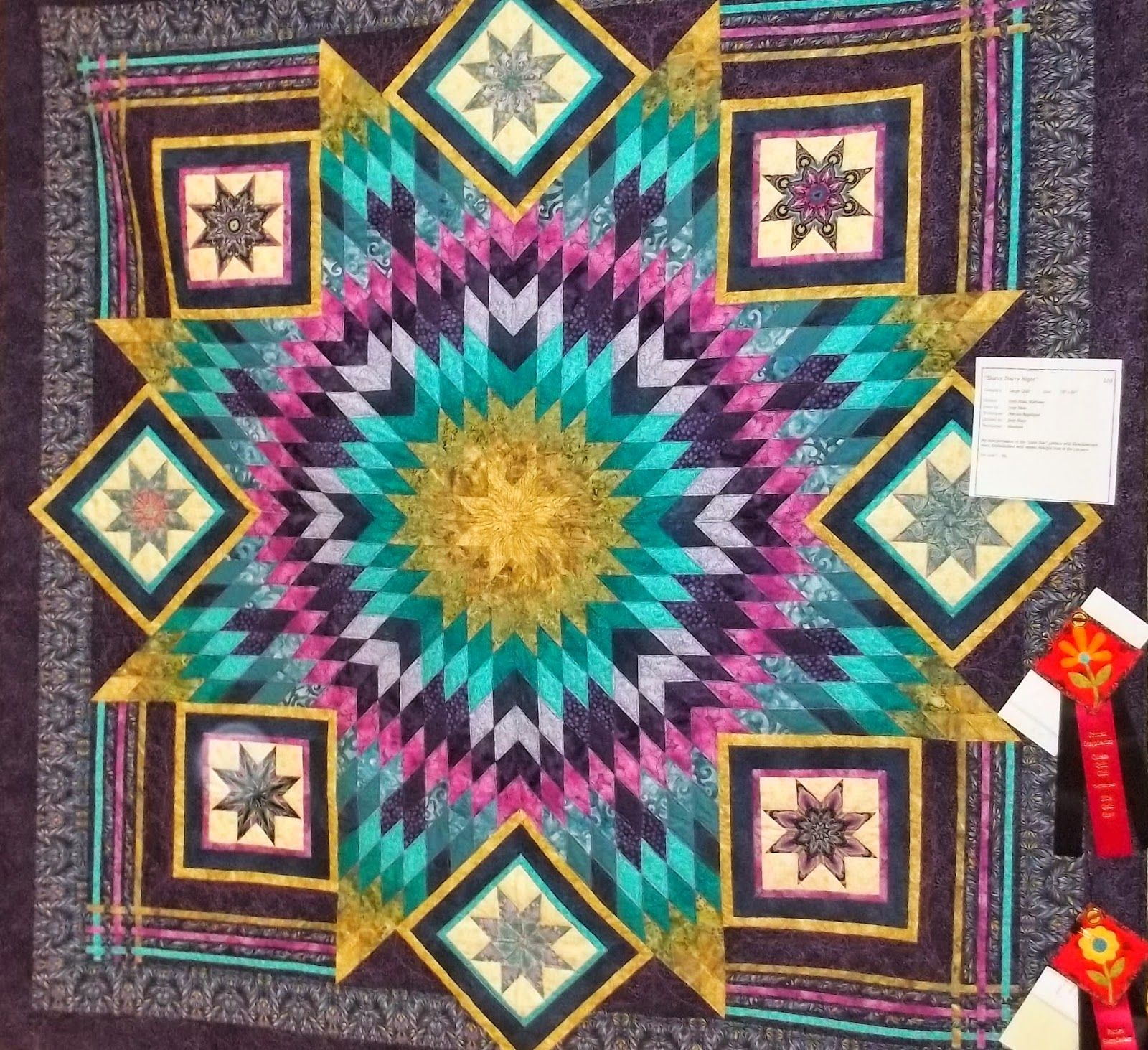 Prairie Cottage Corner - Home of Sunbonnet Sue and Friends: Guess Who Won a Ribbon at the Annual Odessa Quilt Show?
