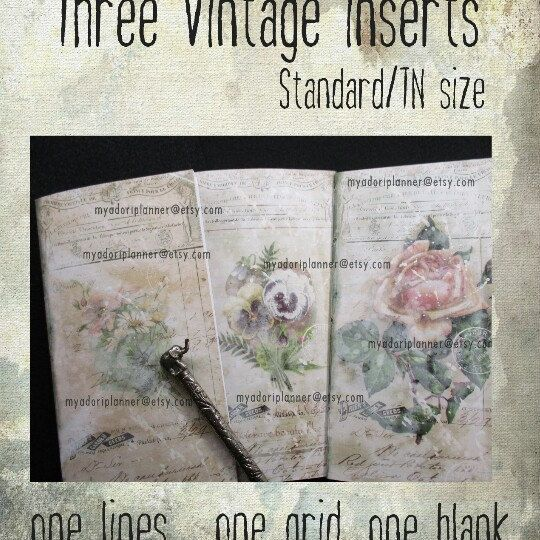 Vintage bliss available seperately