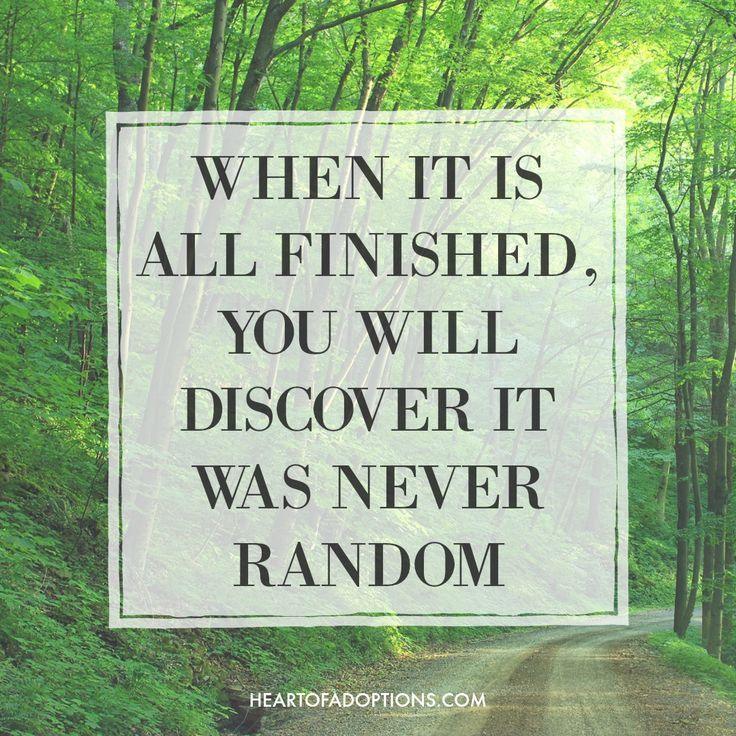 """""""When it is all finished, you will discover it was never"""