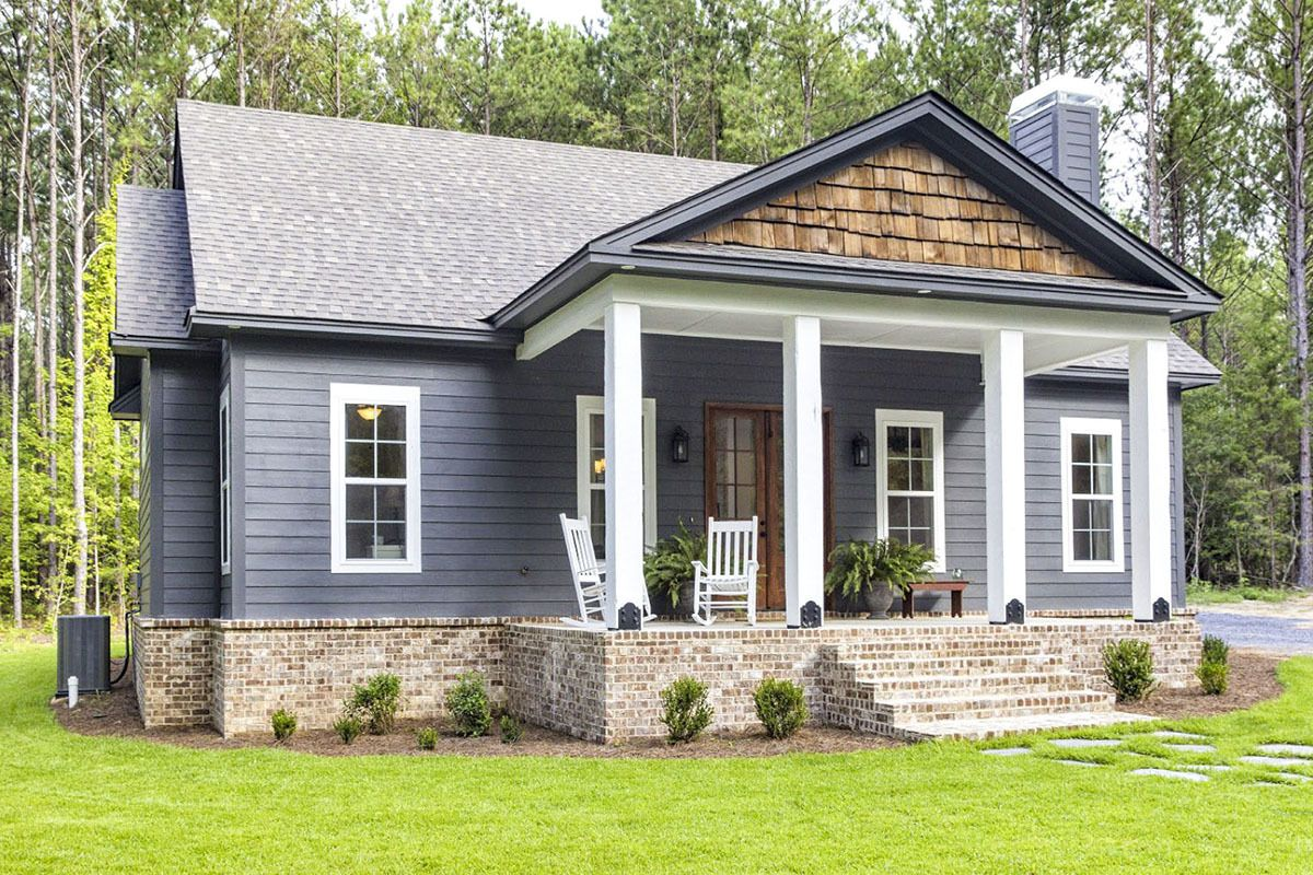 Plan 86339hh Storybook Bungalow With Large Front And Back Porches Craftsman House Plans Bungalow House Plans House Plans Farmhouse