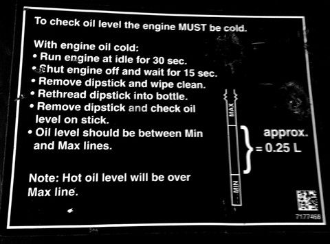 Polaris RZR 900 xp oil checking procedure Polaris RZR Maintenance