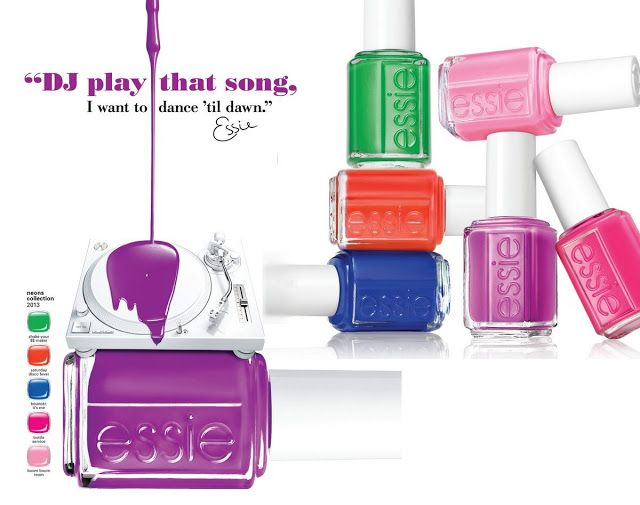 Essie Neon 2013 nail polish collection. Because I need more.