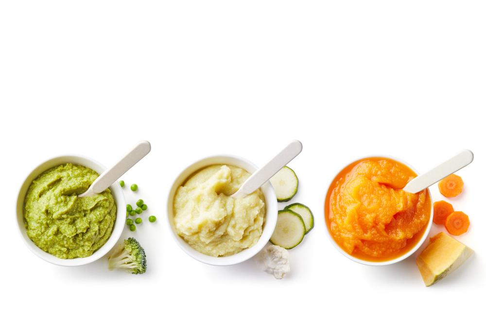 Green Yellow Orange Baby Puree Bowl in 2020 | Baby food ...