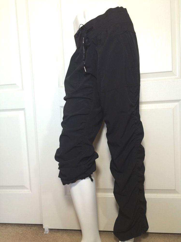 87db33d5cadc14 KYODAN (M) Women's Black Studio Yoga Pants Ruched Lightweight #Kyodan  #PantsTightsLeggings
