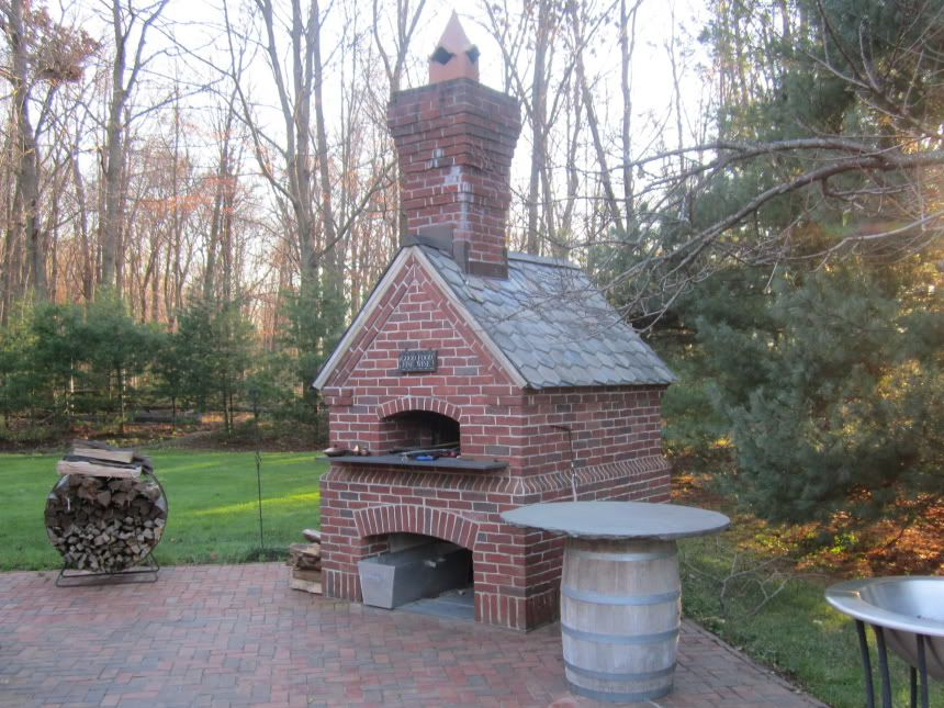 Built Like a Brick Smokehouse (and an awesome pizza oven too ... on masonry wood stove plans, masonry garage plans, masonry smoker plans, masonry home plans,