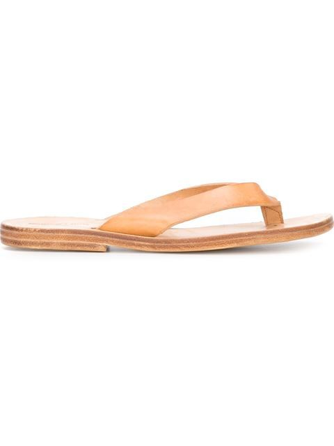 6d2b8b2b16ff Shop Dimissianos   Miller flip flops in Tassinari from the world s best  independent boutiques at farfetch.com. Shop 400 boutiques at one address.
