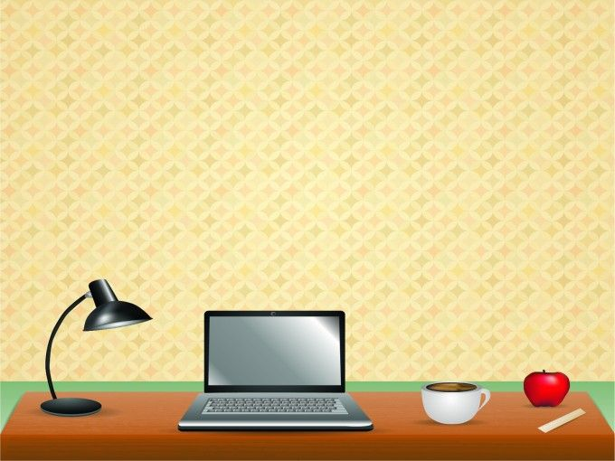Computer Work Desktop Business Yellow Red Black White Powerpoint Backgrounds Backgrounds Desktop Computer Black Colour Background