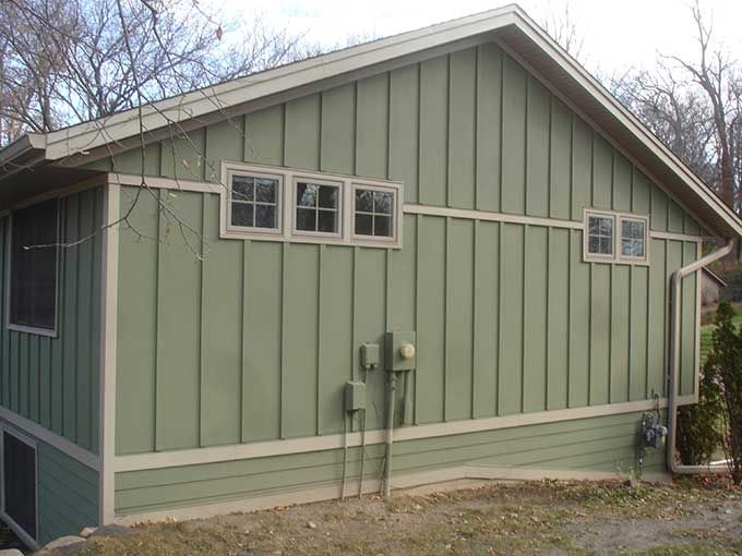 How To Set Up Board And Batten Or Exterior Siding Wood Siding