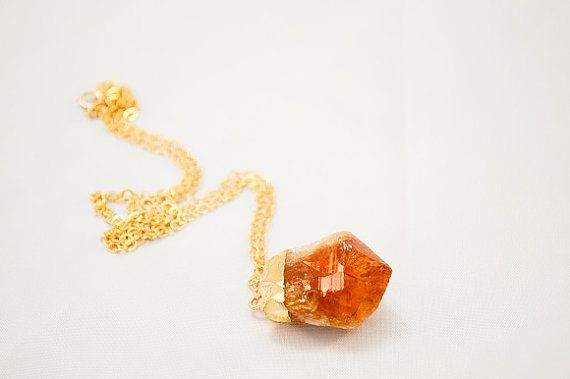 Amber Gold Stone Necklace Orange Amber Stone by FrenchRobinDesigns (scheduled via http://www.tailwindapp.com?utm_source=pinterest&utm_medium=twpin&utm_content=post1465539&utm_campaign=scheduler_attribution)