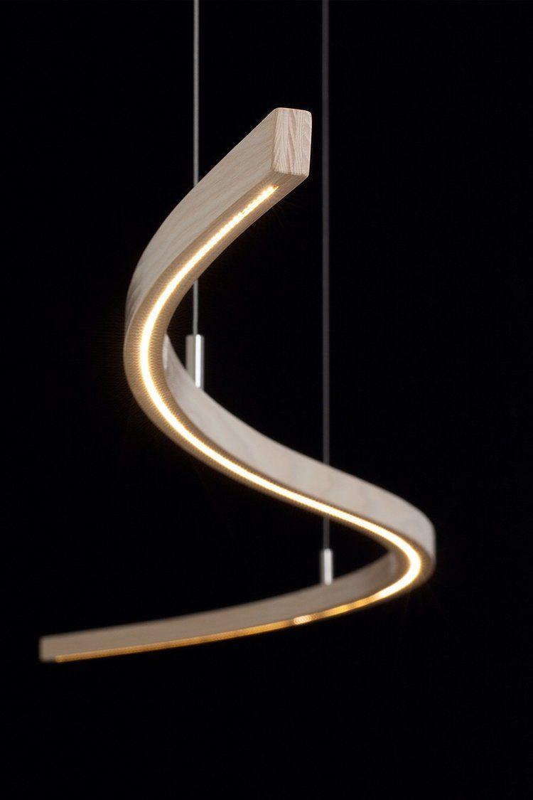 S Light Lamp Design Wood Lamps
