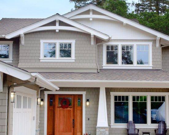 gable trim ideas | Found on houzz.com | CURB APPEAL | Pinterest ...