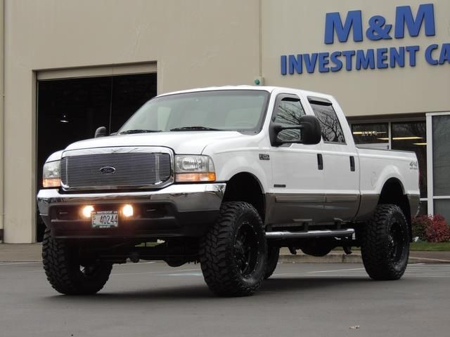 Used 2002 Ford F 250 Super Duty Lariat 4x4 7 3l Turbo Diesel