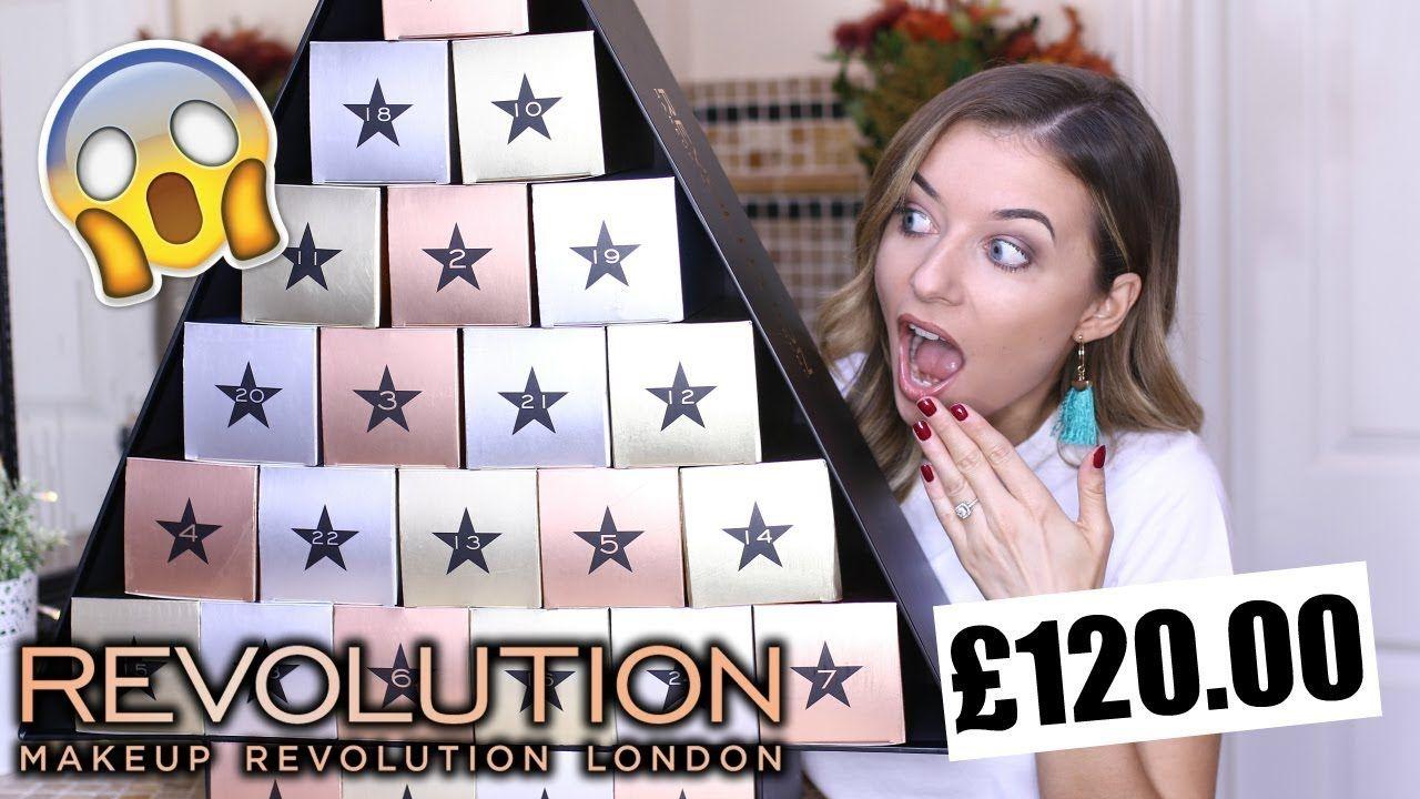 Awesome 10 Pics Makeup Revolution Advent Calendar 2017