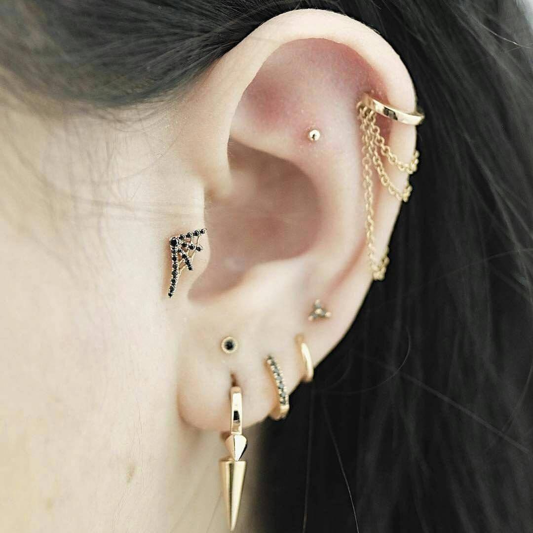 Nose piercing over 40  Pin by harriet cross on pierced ears  Pinterest  Piercings Ear