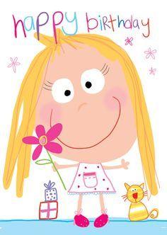 Idea De Myriam Bemtgen En Happy Birthday Tarjetas De Feliz
