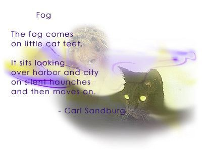 Poems/Fog by Carl Sandburg | Poetry | Pinterest | Carl sandburg ...