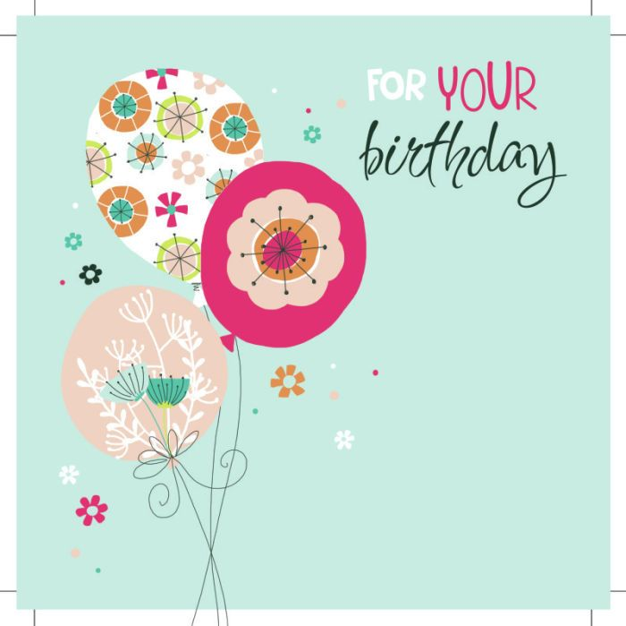 Jeannine Rundle - HAPPY BIRTHDAY BALLOONS AND FLOWERS