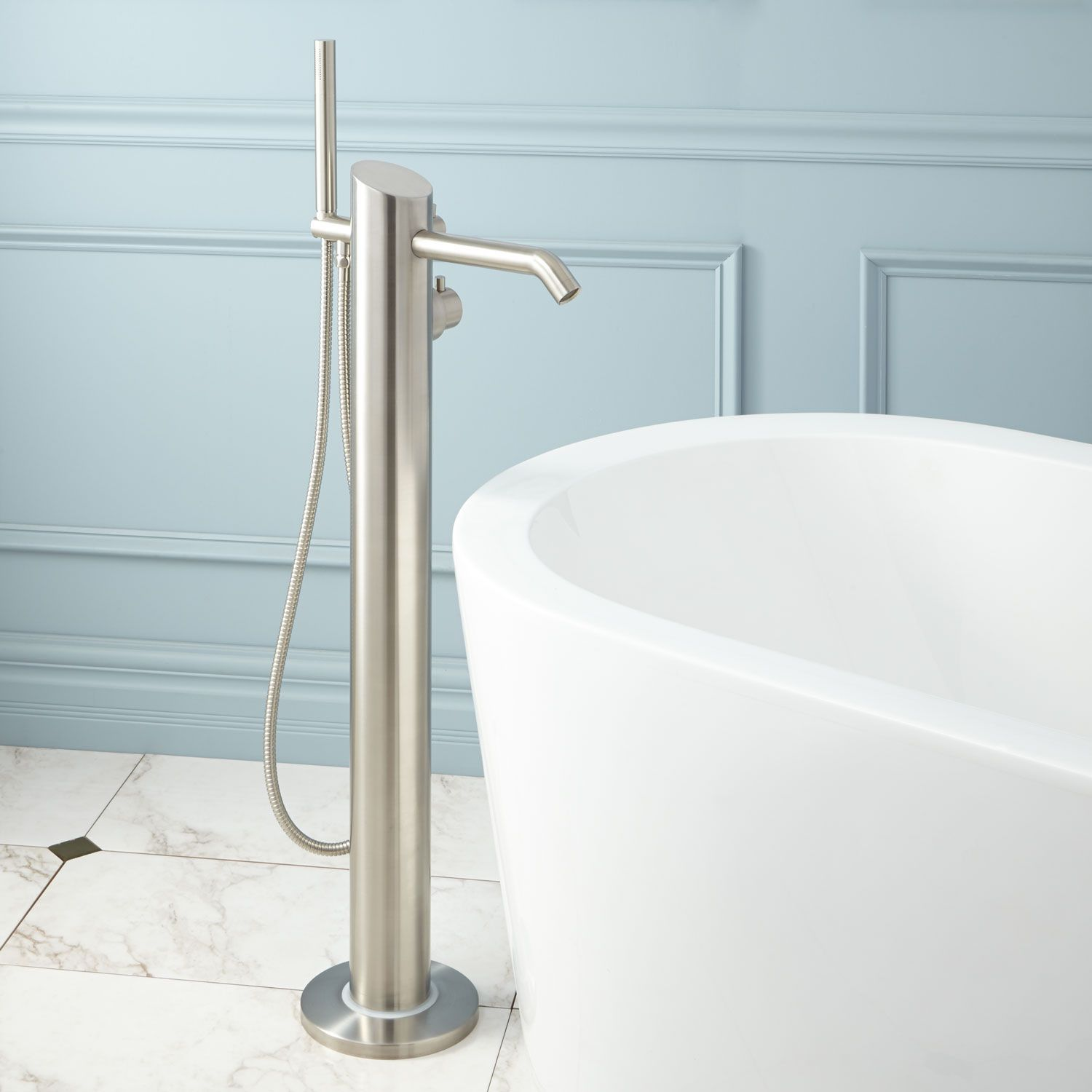 Samara Freestanding Thermostatic Tub Faucet Faucet and Products