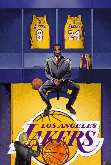 los angeles d9f9e 1dde2 US$ 29.99 #8 #24 Kobe Bryant Retired Limited Edition Black ...