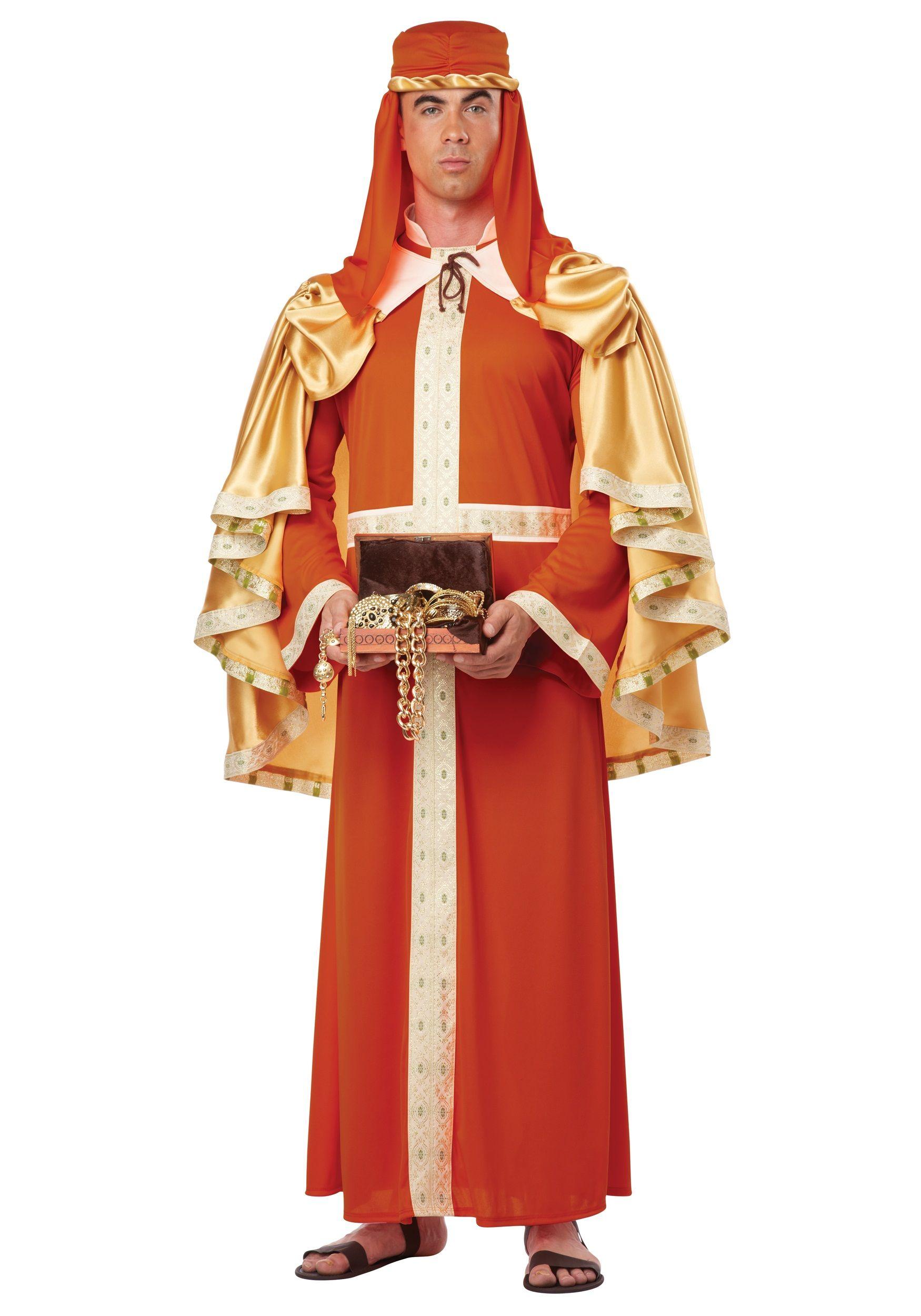 Three Kings 2 Sizes California Costumes Gaspar Wise Man Adult Costume