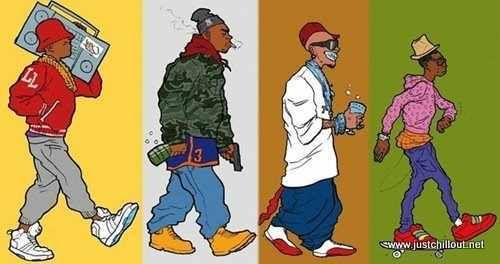 Hip-Hop Fashion Evolution And Why You Wear That | Rap Genius Blog