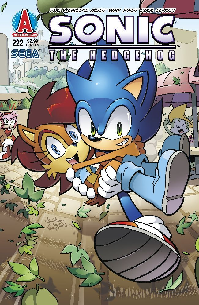 Archie sonic the hedgehog issue 222 pinterest hedgehogs comic sonic holding sally cute bad news amys jealous because of the look on her face sonic you dummy thecheapjerseys Gallery