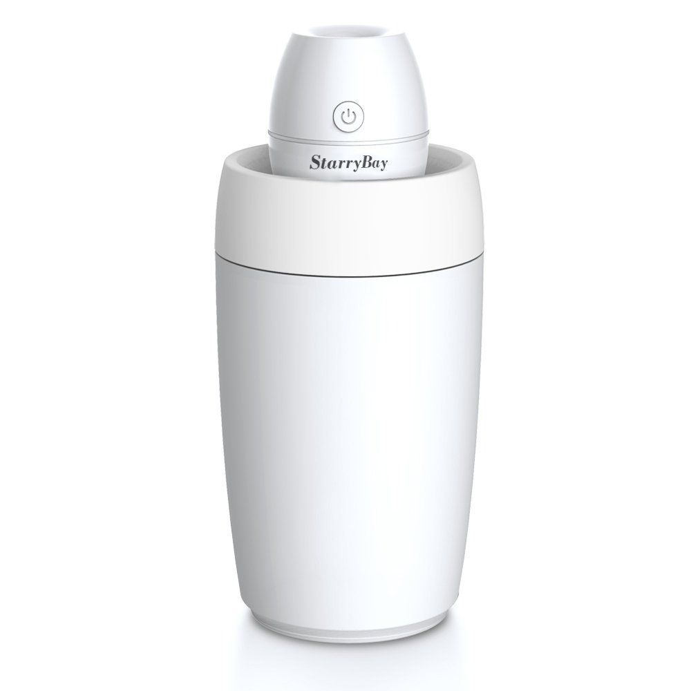 Starrybay Portable Mini Clean Cool Mist Humidifier Ultraquiet Desk Personal Air With Led