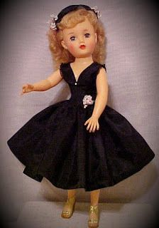 1950 Miss Revlon Doll.  Ideal Toy Co.