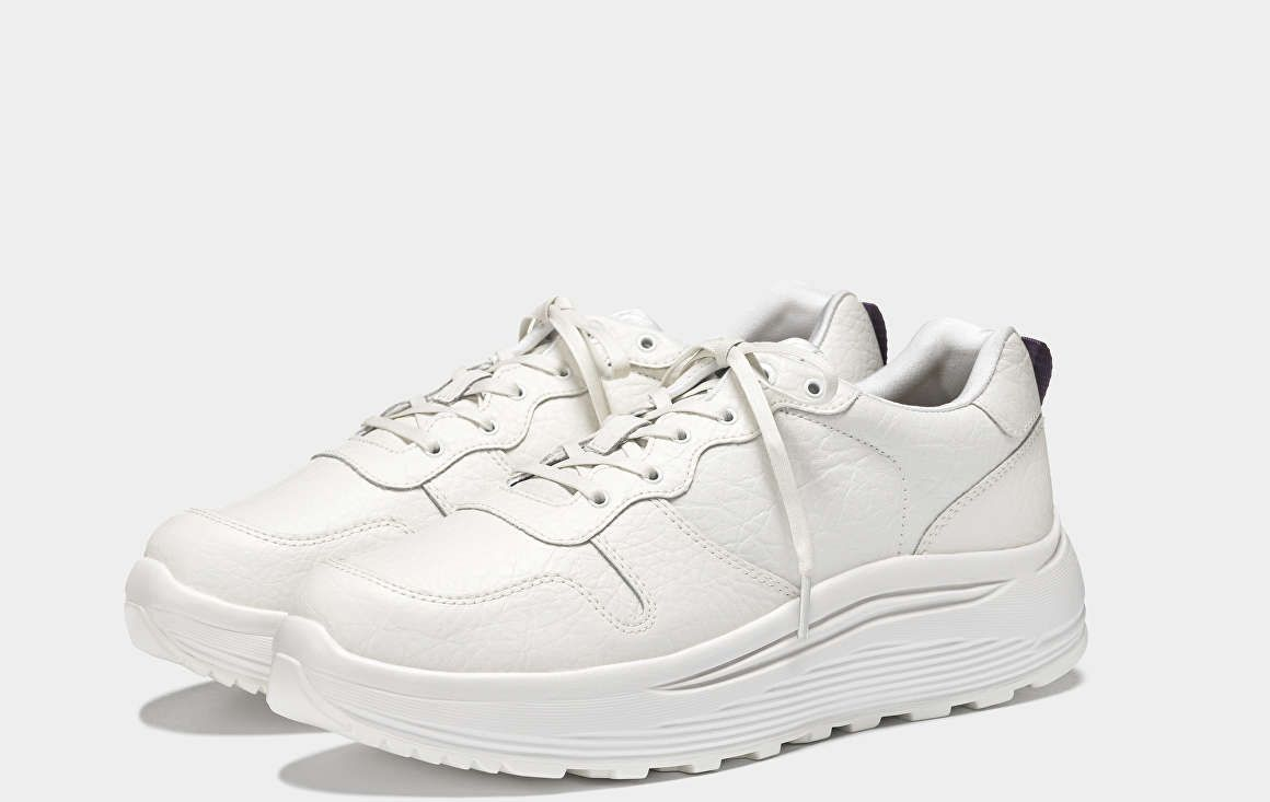 finest selection f65d2 50afe Jet Tumbled White White Leather, Jet, Model, Fashion, Leather Sneakers,  Trainers