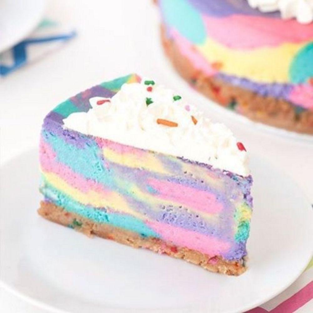 NoBake Unicorn Cheesecake Is a Delicious Dream Come True Unicorns