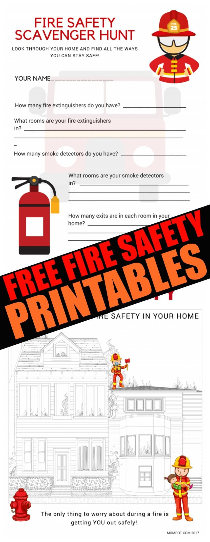 Making A Fire Safety Plan Tools Tips And Tricks National Fire Safety Day October 2017 Teachin Fire Safety For Kids Fire Safety Activities Fire Safety Free [ 2191 x 850 Pixel ]