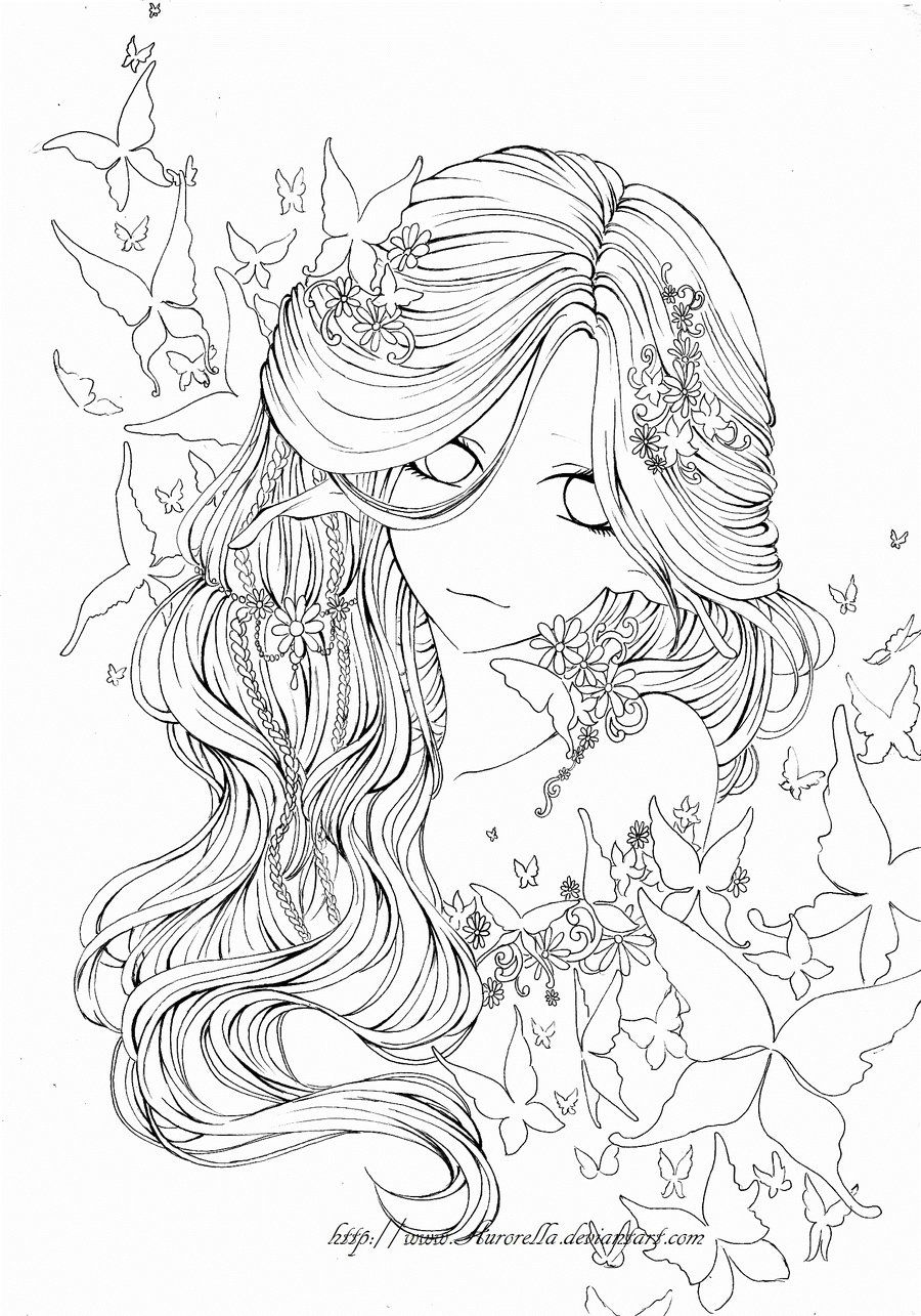 Coloring book outlines - Butterfly Dream Outlines By Aurorella On Deviantart