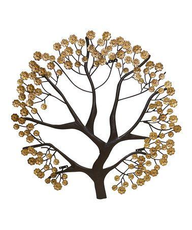 Dr Livingstone, I Presume Brown  Gold Tree Wall Art Trees, Tree