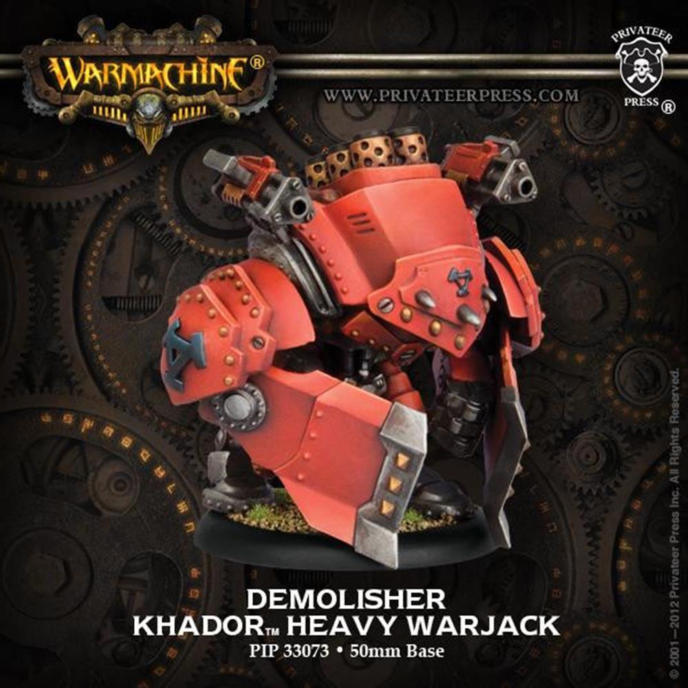 Privateer Press - Warmachine: Khador (33073): Demolisher Heavy Warjack #PIP33073