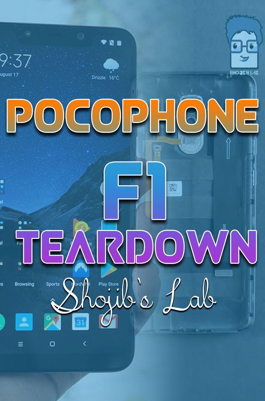 Pocophone F1 Teardown | Before JerryRig Everything Teardown